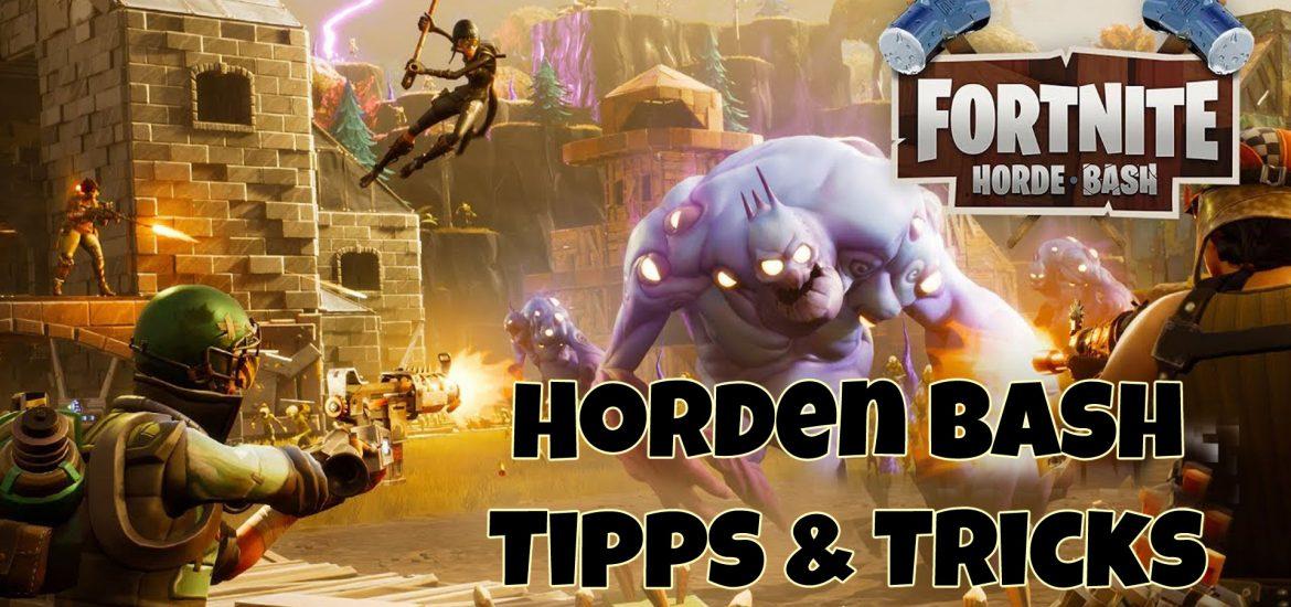 Tipps und Tricks zur Hordenherausforderung in Fortnite