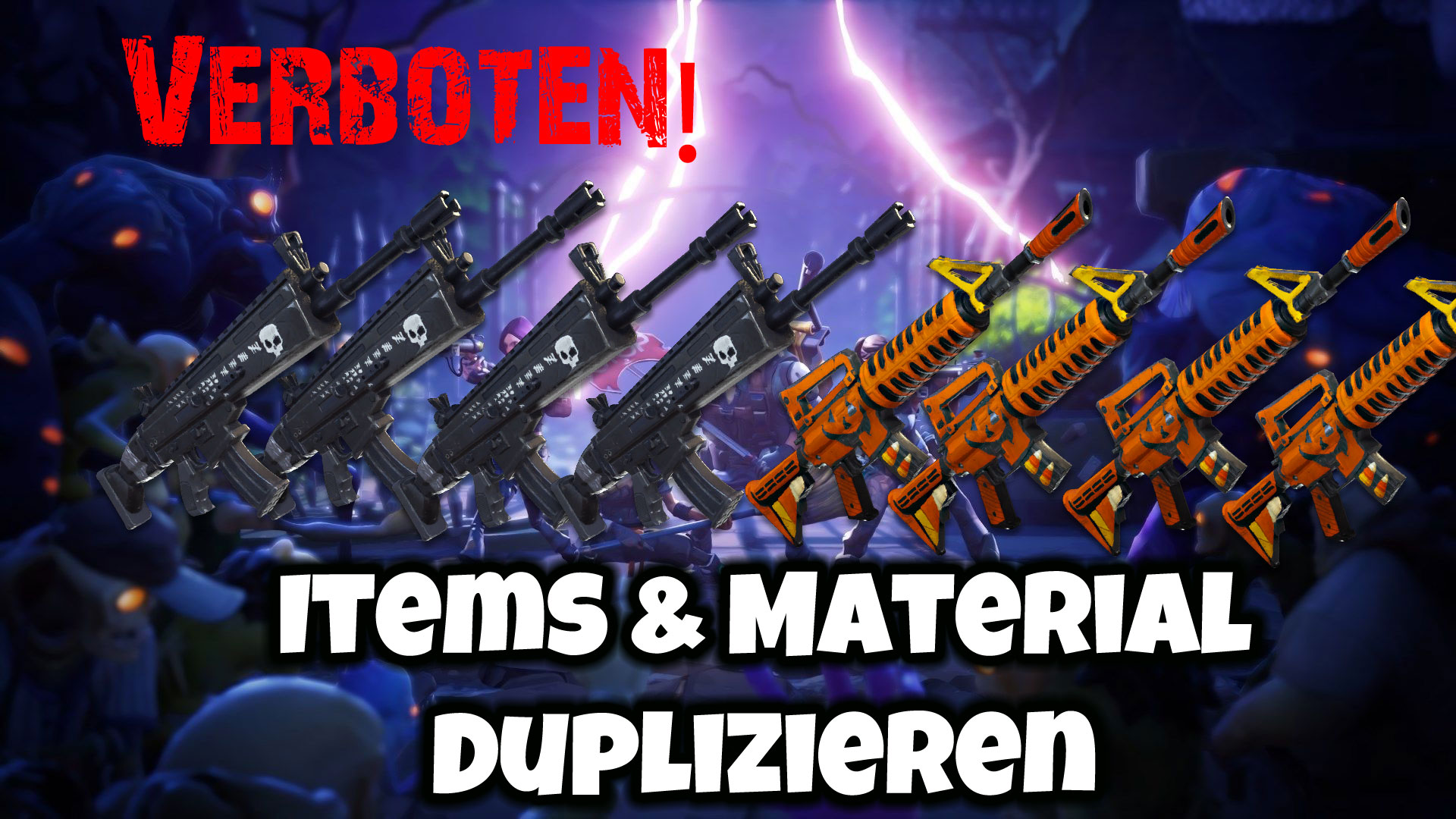 Fortnite: Material und Items duplizieren (Glitch)
